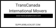 TransCanada International Movers