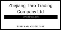 Zhejiang Taro Trading Company Ltd