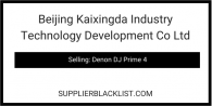 Beijing Kaixingda Industry Technology Development Co Ltd