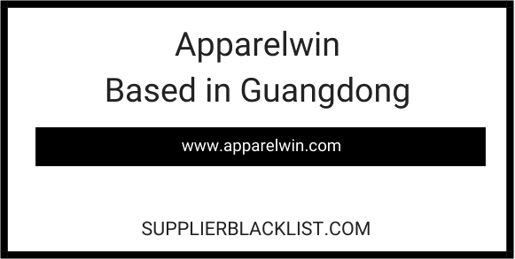 Apparelwin Based in Guangdong