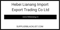 Hebei Lianang Import Export Trading Co Ltd