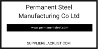 Permanent Steel Manufacturing Co Ltd