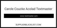 Carole Coucke Acolad Textmaster
