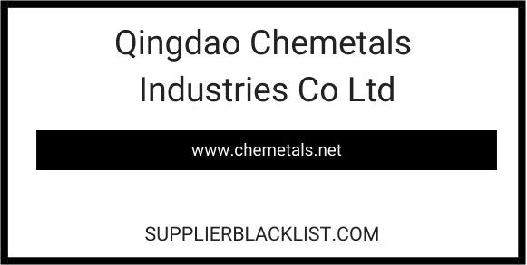 Qingdao Chemetals Industries Co Ltd