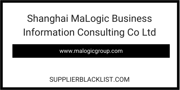 Shanghai MaLogic Business Information Consulting Co Ltd