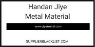 Handan Jiye Metal Material
