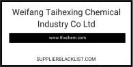 Weifang Taihexing Chemical Industry Co Ltd