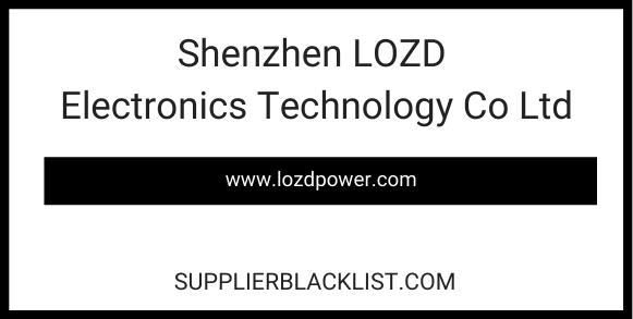 Shenzhen LOZD Electronics Technology Co Ltd