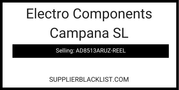 Electro Components Campana SL
