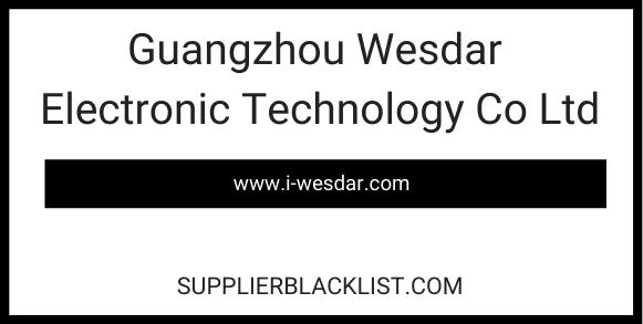 Guangzhou Wesdar Electronic Technology Co Ltd