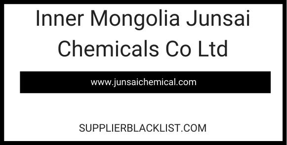 Inner Mongolia Junsai Chemicals Co Ltd