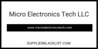 Micro Electronics Tech LLC