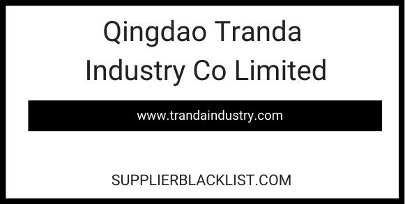 Qingdao Tranda Industry Co Limited
