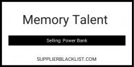 Memory Talent