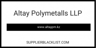 Altay Polymetalls LLP