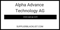 Alpha Advance Technology AG
