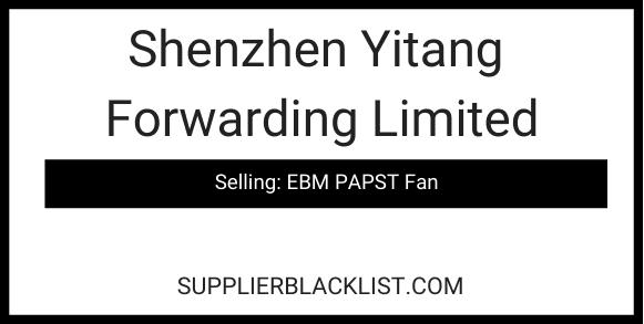 Shenzhen Yitang Forwarding Limited