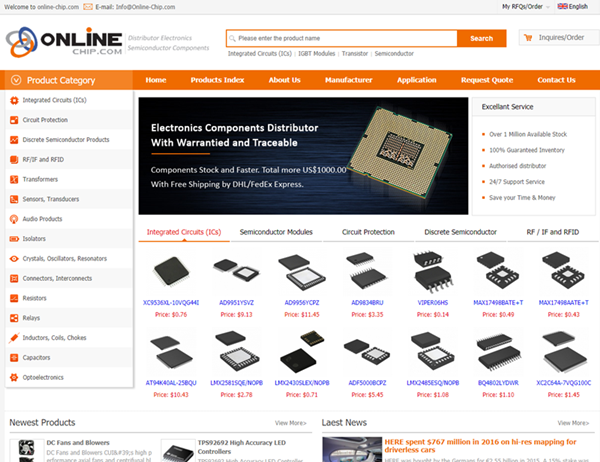 online chip com website